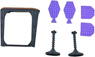 Monster High Replacement Parts for MH High School High School Playset CJF48 - Replacement Chairs and Desk