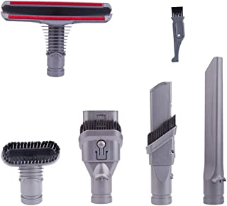 Best I clean Replacement Dyson V6 Vacuum Cleaner Parts, 5Packs Attachments Kits for Dyson DC59 DC25 DC35 DC34 DC44 Animal Cord Free Handheld Motorhead Vacuum Review