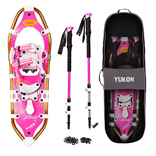 Yukon Charlies Pro Float Women's Snowshoe Kit, 825