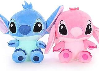 """2pcs Stitch Angel Pink 4.5/"""" Plush Doll Stuffed Toy"""