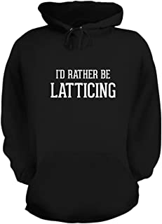 BH Cool Designs I'd Rather Be Latticing - Graphic Hoodie Sweatshirt