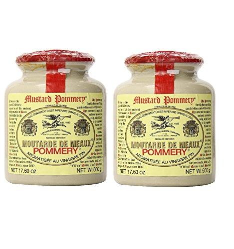 Pommery 粒マスタード 500g フランス ×2セット