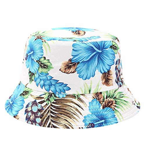 QQSA Haben Männer Frauen beidseitig Bedruckte Tragen Masken-Hut-Frauen Reise-Folding-Becken Fischerhut Wannen-Hüte Hip Hop Caps (Color : E, Size : One Size)
