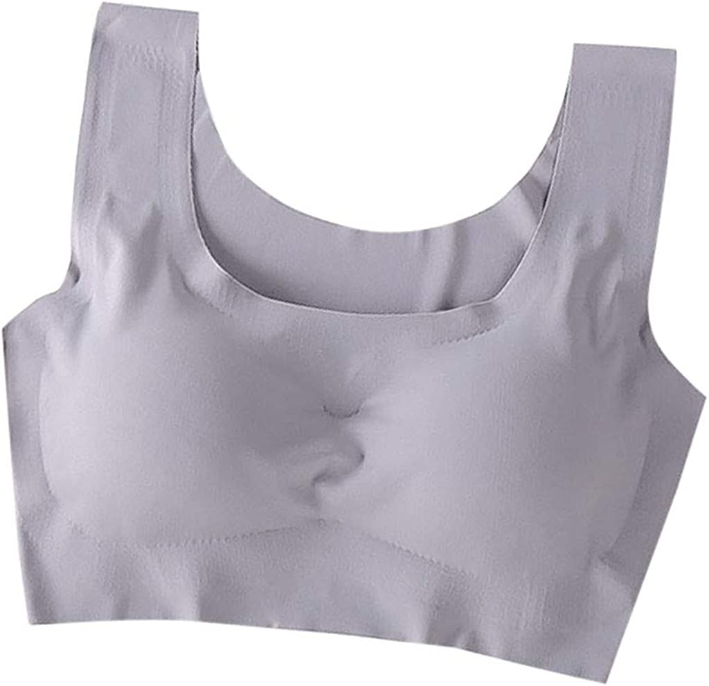 Women Seamless Sports Bra Wireless Yoga Crop Top Vest Comfort Stretch Shapewear High Impact Bra Fashion Underwear Bras