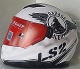 LS2 WV001RCA0457 LS-03 Full Face Helmet (Black, L)