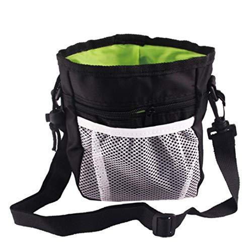 Aisoway Hundefestlichkeit Sporttasche Mit Einem Built-in Poop Beutelspender Trägt Leicht Haustier Spielt Welpen Snack Belohnung Hüfttasche