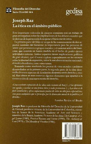 La etica en el ambito publico/ Ethics in the Public Habit
