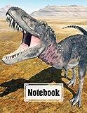 "Notebook: Dinosaur Tarbosaurus Cover Composition Notebook College Ruled, Dinosaur Tarbosaurus Notebooks, School Supplies, Notebooks for School | 120 Pages - Large 8.5"" x 11"" By Irma Reimann"