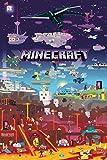 Tainsi - Póster de Minecraft World Beyond (28 x 43 cm)