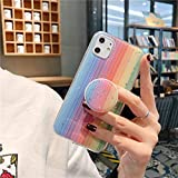 GADGET TECH Cute Rainbow Case for iPhone XR (Model 2, iPhone XR)