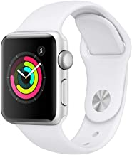 Apple Watch Series 3-38 mm, Silver Aluminum Case - MTEY2