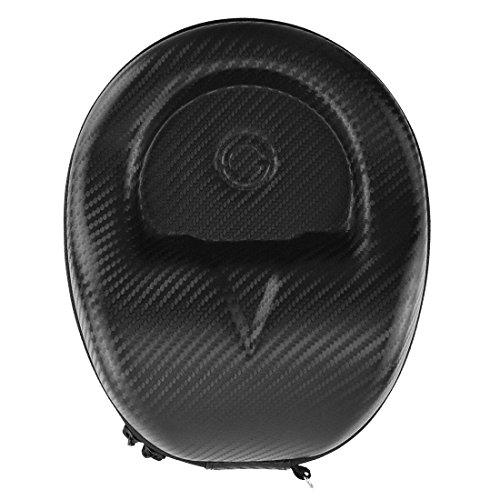 geekria Ultraskin Compact Kopfhörer Fall für Beats Studio 3.02.01.0/Hard Shell Headset mit Schutzhülle/Kopfhörer Travel Tasche, Passform für klappbar und non-fordable Kopfhörer (schwarz Gras Matte)