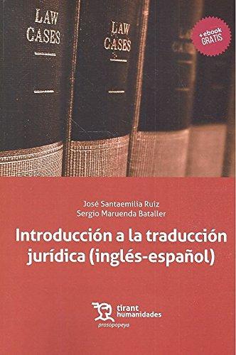Introducción Traducción Jurídica inglés-español: