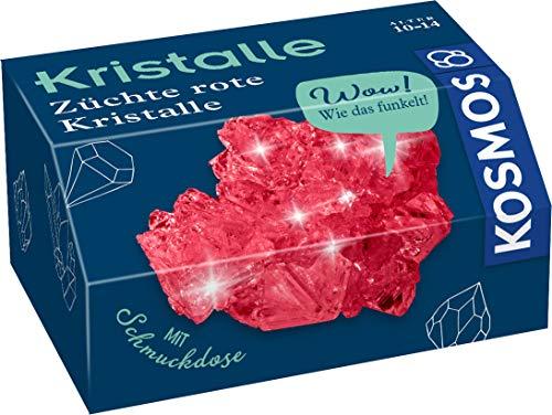 Kosmos 657949 Rote Kristalle selbst züchten Experimentierset für Kinder, White