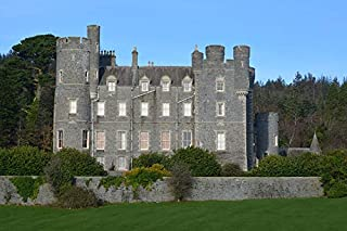 Home Comforts Castle Northern Ireland Tourist Attraction Vivid Imagery Laminated Poster Print 11 x 17