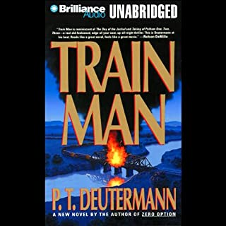 Train Man audiobook cover art