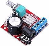 Lonfener Dual Channel 2CH 2x 10W 12V Classe D Amplificateur numérique 2.0High Power Board stéréo Amplificateur