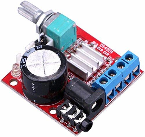 Dual Channel 2 CH 2 x 10 W 12 V D-Klasse High Power 2.0 Digital Amplifier Board Stereo Endstufe