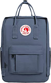 KALIDI Casual Backpack for Women,15 Inches Laptop Classic Backpack Camping Rucksack Travel Outdoor Daypack College School Bag (Navy)