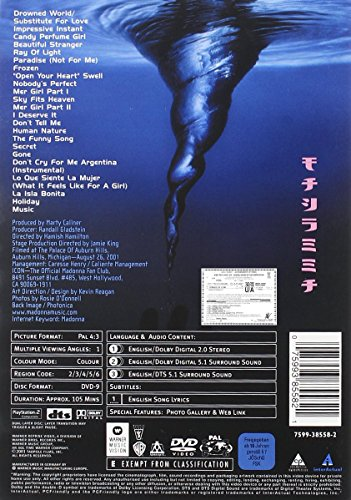 Madonna - Drowned World Tour Live [DVD] [2001]