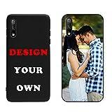Naispanda Coque pour Huawei Honor 9X,Coque Personnalisée avec Votre Photo Coque TPU pour Huawei...