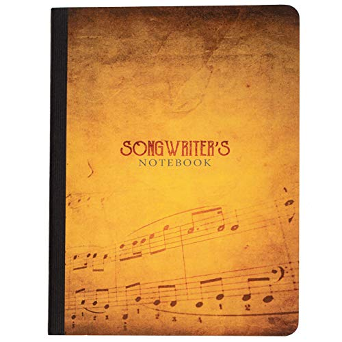 """Songwriter's Notebook: Lyrics Diary with Songwriting Templates • 5"""" x 8"""" Journal • 80 Pages of Ivory Matte-Finished Paper • 150+ iVideosongs Online Tutorial"""