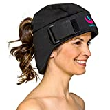 Icekap Migraine Cap - Patented Headache Relief Migraine Hat with 5 Gel Ice Pack - Ice Hat Lasts Up to 3 Hours! Icecap for Migraines, Chemo, Sinus Relief, Head Tension, Menopause and More