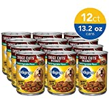 PEDIGREE CHOICE CUTS in Gravy Adult Canned Wet Dog Food Steak & Vegetable Flavor, (12) 13.2 oz. Cans
