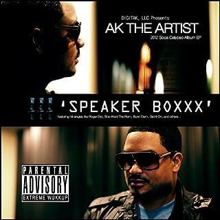 Speaker Boxxx 2012 Soca Calypso Ep by Ak the Artist (2011-11-15)