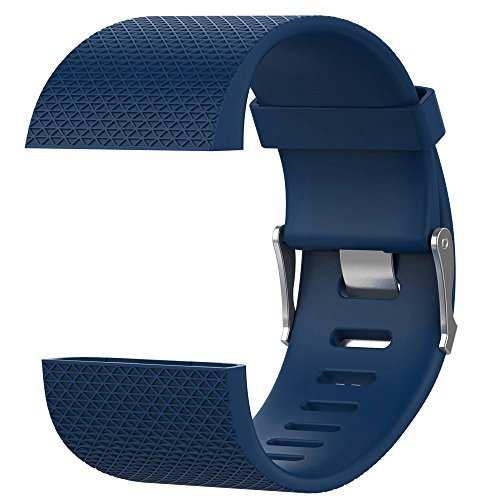 Banda de Reloj para Fitbit Surge - Correa de Silicona de LiberacióN RáPida - Ajustable Repuesto Pulsera Correa de Reloj Accesorios para Hombre Mujer Baohooya