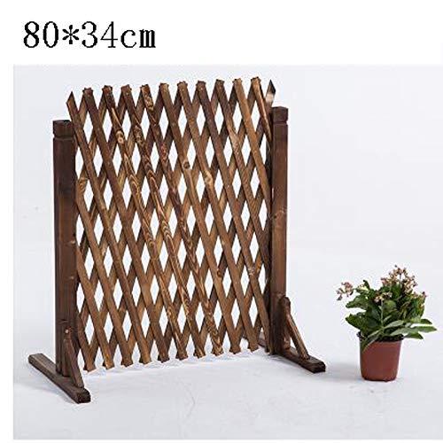 Clôture pour animaux de Compagnie, clôture en Bois Anti-Corrosion clôture télescopique intérieure clôture clôture clôture de Jardin en Bois Grille en Bois partition
