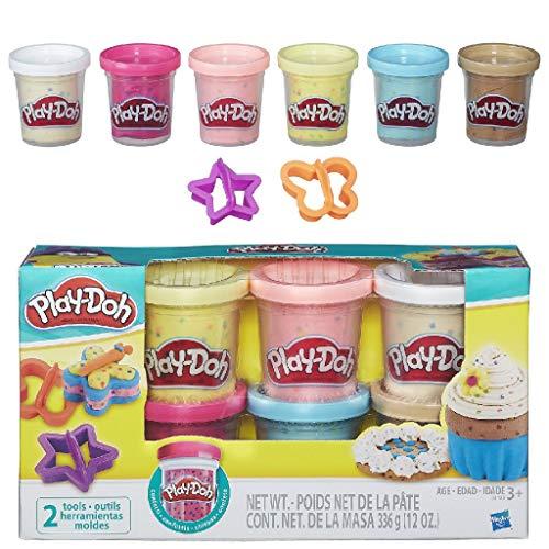 Play-Doh B3423EU6 Konfettiknete, für fantasievolles und kreatives Spielen, Multicolor