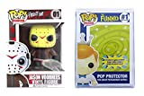 Funko Pop Movies: Friday The 13th - Jason Voorhees + Pop Protector Case