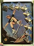 80s santa cruz サンタクルーズ ロブロスコップ オールド ビンテージ スケートボード ポスター OLD vintage SK8 skateboard poster