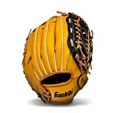 Franklin Sports Baseball and Softball Glove - Field Master - Baseball and Softball Mitt , ...