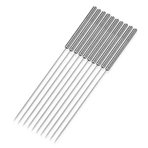 SIENOC Kit de taladro de la boquilla de la extrusora de 10PCS 0.4mm para la limpieza de la boquilla de la impresora 3D