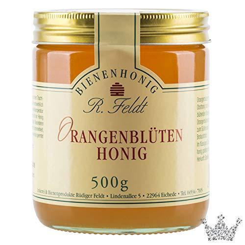 Orangenblüten Honig, lieblich, blumig wie Orangenblüte, unfiltriert, 500g