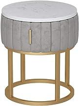 TXC- Bedside Table Bedroom Locker, Bedroom Bedside Table, Living Room Locker, Living Room Sofa Side Cabinet Durable (Color...