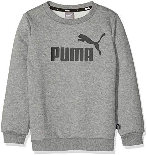 Puma 852110 Sweat-Shirts Garçon Medium Gray Heather FR : Taille Unique (Taille Fabricant : 152)