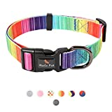 HanTuo Dog Collar with Safety Locked Buckle,adjusttable pet cat Dog Collar for...