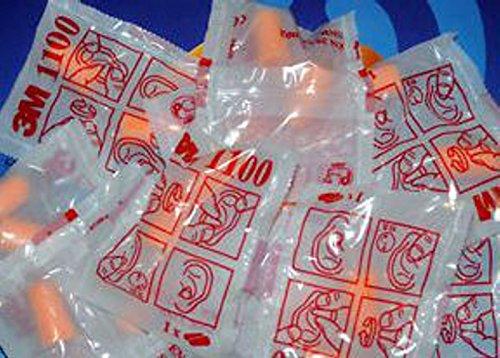 Tappi per orecchie antirumore protezione 3M 1100 con cordino 5 paia (10 tappi) sigillati