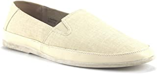 Scans Men's 66315 Light Weight Slip On Canvas Loafer Shoes