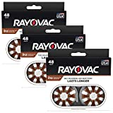 Rayovac Hearing Aid Batteries Size 312 for Advanced Hearing Aid Devices (144 Count)