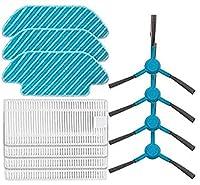 掃除機部品HEPAフィルター交換部品CecotecConga 5090に適合Conga4090ロボットに適合ロボット掃除機メインブラシサイドブラシモップアクセサリー(色:8個) 絶妙な (Color : 2 Set)