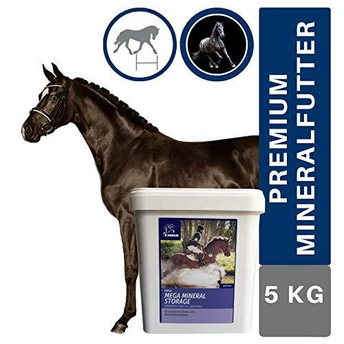 EMMA® Mineralfutter I Vitamin B komplex Biotin Zink Selen Bierhefe Pferde I Pferdemineral I Vitamine (A D E C K3 B1 B2 B6) Mineralien Booster I Hufwachstum I Senior Mineral Fohlen Pony 5 Kg