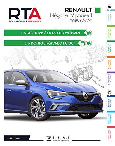 E.T.A.I - Revue Technique Automobile 851 - RENAULT MEGANE IV PHASE I (2015 à 2020)
