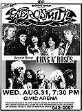 U Like Creation Aerosmith Permanent Vacation Tour 1988 with