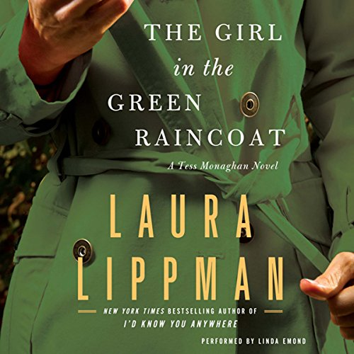 The Girl in the Green Raincoat audiobook cover art