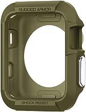 Spigen Rugged Armor Designed for Apple Watch Case for 42mm Series 3/Series 2/1/Original (2015) - Olive Green