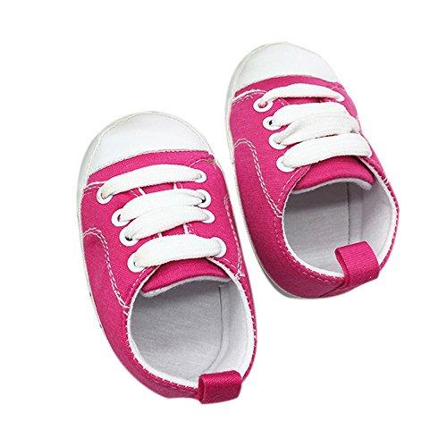 showsing-baby shoes ,  Baby Mädchen Espadrilles, Pink - hot pink - Größe: 0-6 Monate